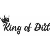 Sticker 4x4 King of Dirt