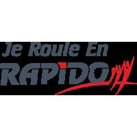 Sticker Je roule en Rapido