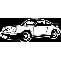 Sticker PORSCHE Car 2