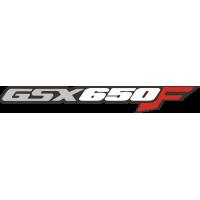 Sticker SUZUKI GSX 650 F