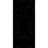 Sticker Famille Petit Garçon 2
