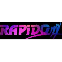 Sticker RAPIDO Custom 3