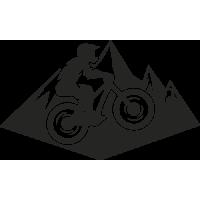 Sticker Mountain Bike 2