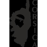 Sticker muraux Corse