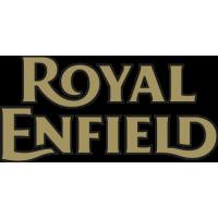Sticker Logo Royal Enfiled Or