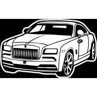 Sticker ROLLS ROYCE Car