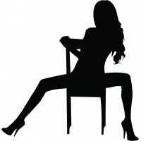 Silhouette Femme Sexy 29