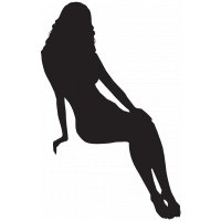 Silhouette Femme Sexy 51