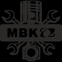 Sticker MBK Logo Piston