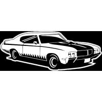 Sticker BUICK Car