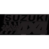 Logo 4x4 Suzuki