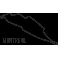Sticker Circuit Montreal