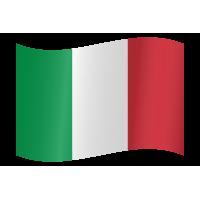 Autocollant Drapeau italien 2