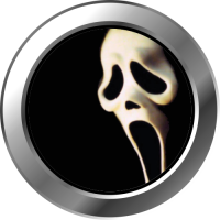 Sticker Hublot Halloween Horror Scream