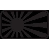 Jdm Drapeau Japon
