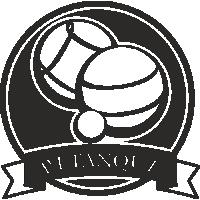 Sticker Déco Baril Pétanque