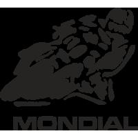 Sticker MONDIAL Motard