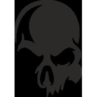 Sticker Skull Tête de mort