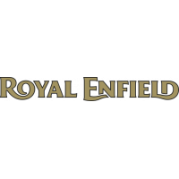 Sticker Logo Royal Enfiled Or 2