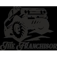 Sticker 4x4 The Franchisor