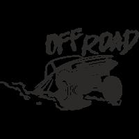 Sticker deco 4x4 offroad 2