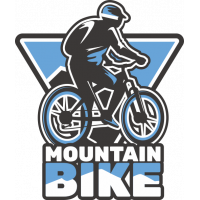 Sticker Mountain Bike 5