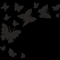 Sticker Papillons 3