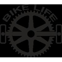 Sticker Bike Life Vélo 5