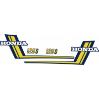 Kit autocollants Honda 125 S3 full