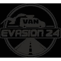 Sticker VAN EVASION 24
