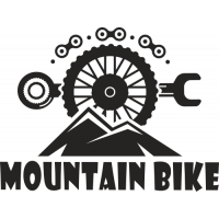 Sticker Mountain Bike 3
