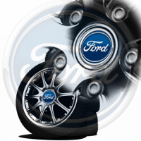Sticker jante ford