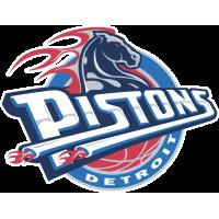 Sticker Detroit Pistons 1