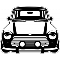 Sticker MINI Cooper 5 car
