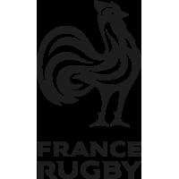 Sticker Rugby FFR Fédération Française de Rugby XV de France (3)