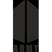 Sticker Army BTS