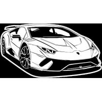 Sticker LAMBORGHINI Car 7