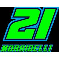 Sticker Franco Morbidelli 21