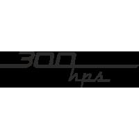 Sticker MONDIAL 300 HPS