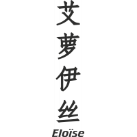Prenom Chinois Eloïse