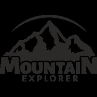 Sticker Montagnes Explorer Déco