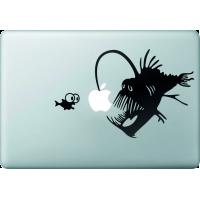 Poissons - Sticker Macbook