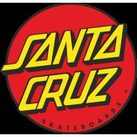 Autocollant Santa Cruz logo