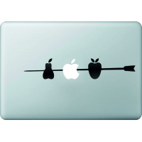 Brochette De Fruits - Sticker Macbook