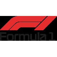 Sticker Logo formula 1 Couleur