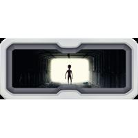 Sticker Hublot Alien