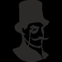 Sticker Arsène Lupin
