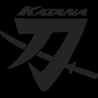 Sticker SUZUKI KATANA (2)