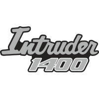 Sticker SUZUKI INTRUDER 1400