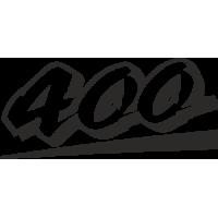 Sticker KAWASAKI Ninja 400